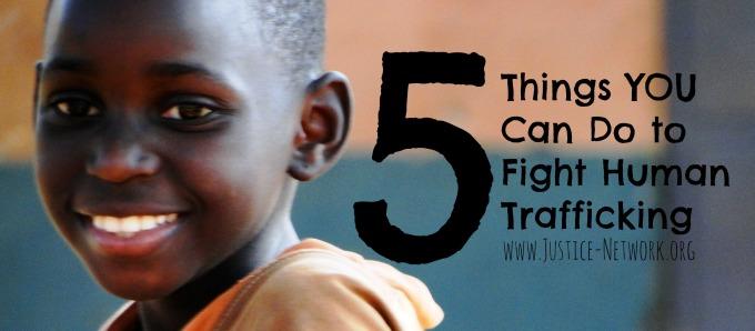 fight human trafficking