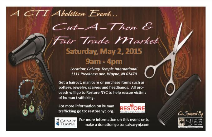 Cut-A-Thon - Abolition Event 2015