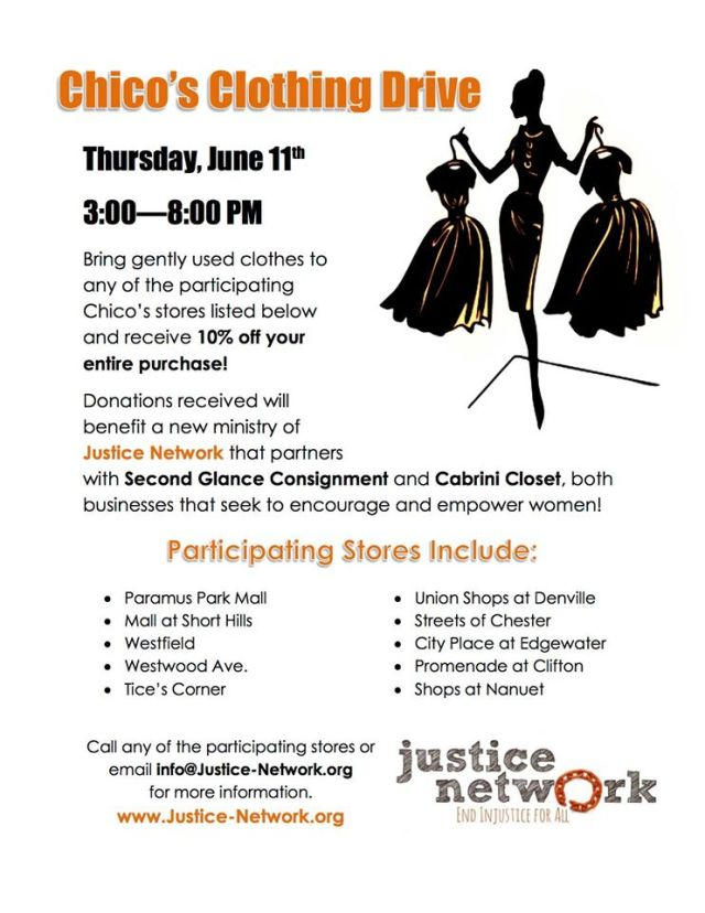 Chico's Clothing Drive