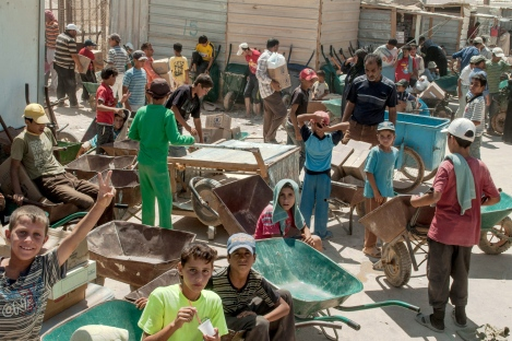 APTOPIX Mideast Lebanon Syria Refugee Children