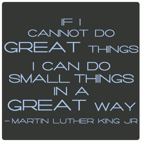 Great Small Quotes Simple Confronting Racism With Small Great Things  Justice Network