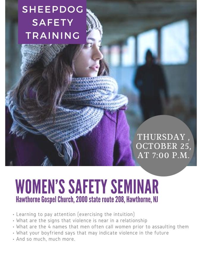 Women's Safety Seminar